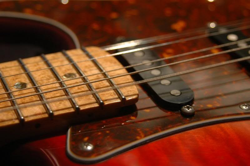 The setup is what makes or breaks the guitar, to begin simply string 'er up.