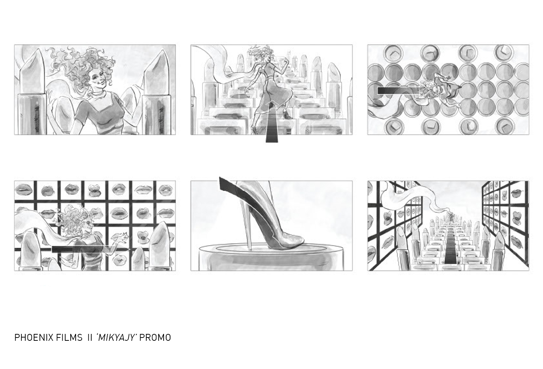 Myriam Fares Mikajy storyboard