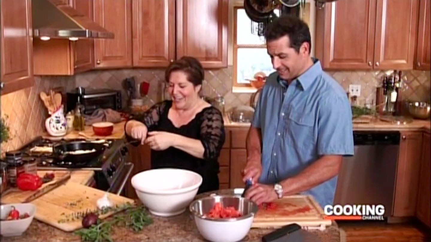 VIDEO:  WATCH NONNA ON THE COOKING CHANNEL