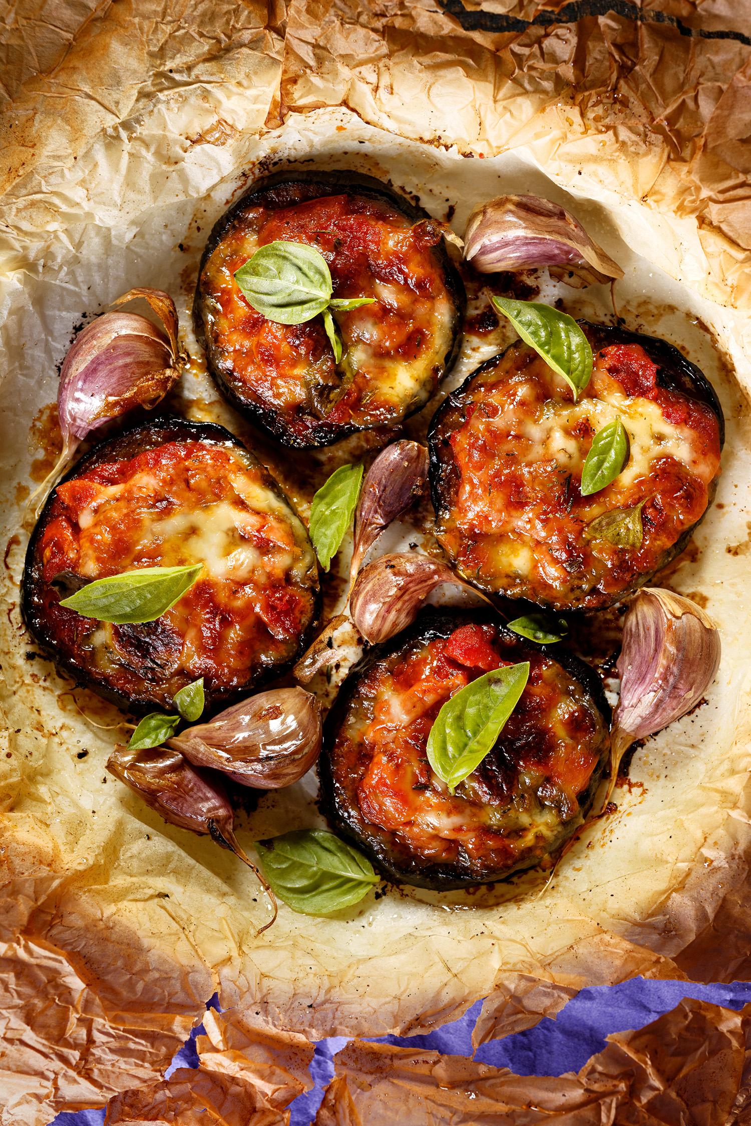 Roasted Eggplant Parm