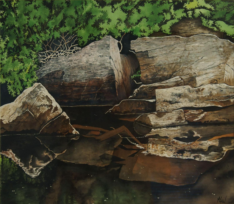 Reflective Rocks - Sold
