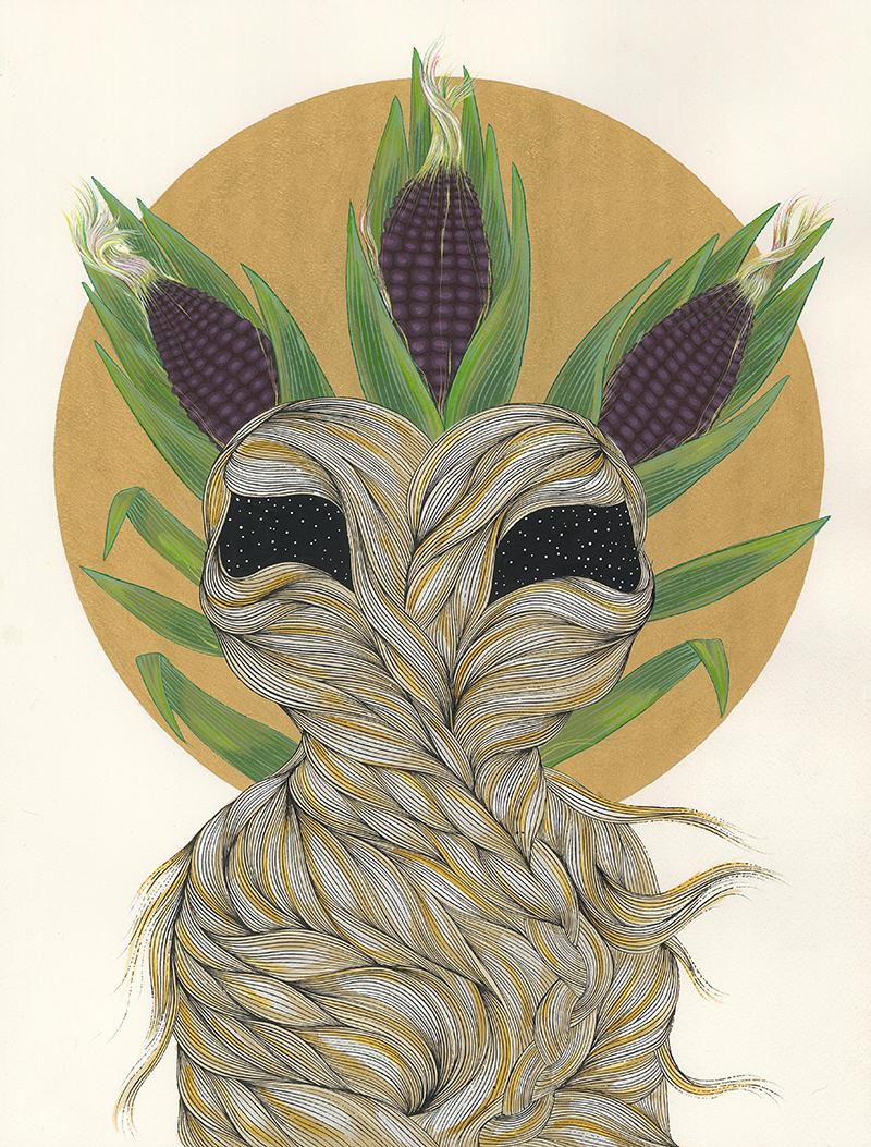 The Blue Corn Maiden