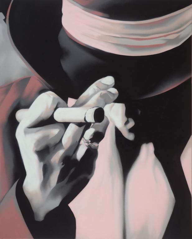 Reasonable Doubt – spray on canvas 5' x 4' - $2000