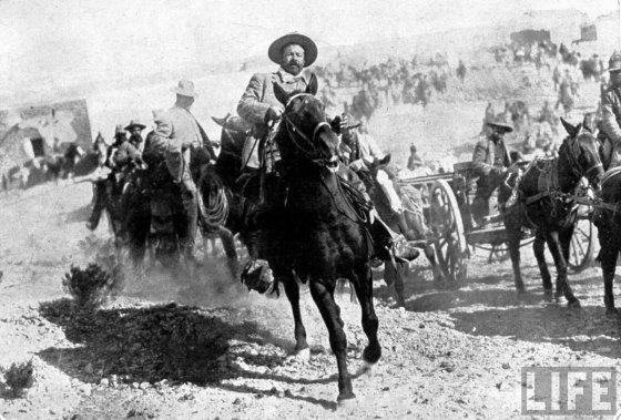Pancho Villa entering the city of Torreon
