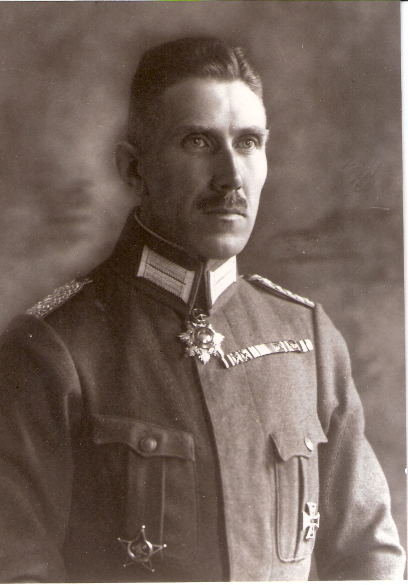 Franz von Papen, German Military Attache in the United States in 1915