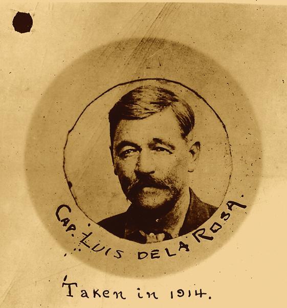The public face of the Plan de San Diego, Luis de la Rosa