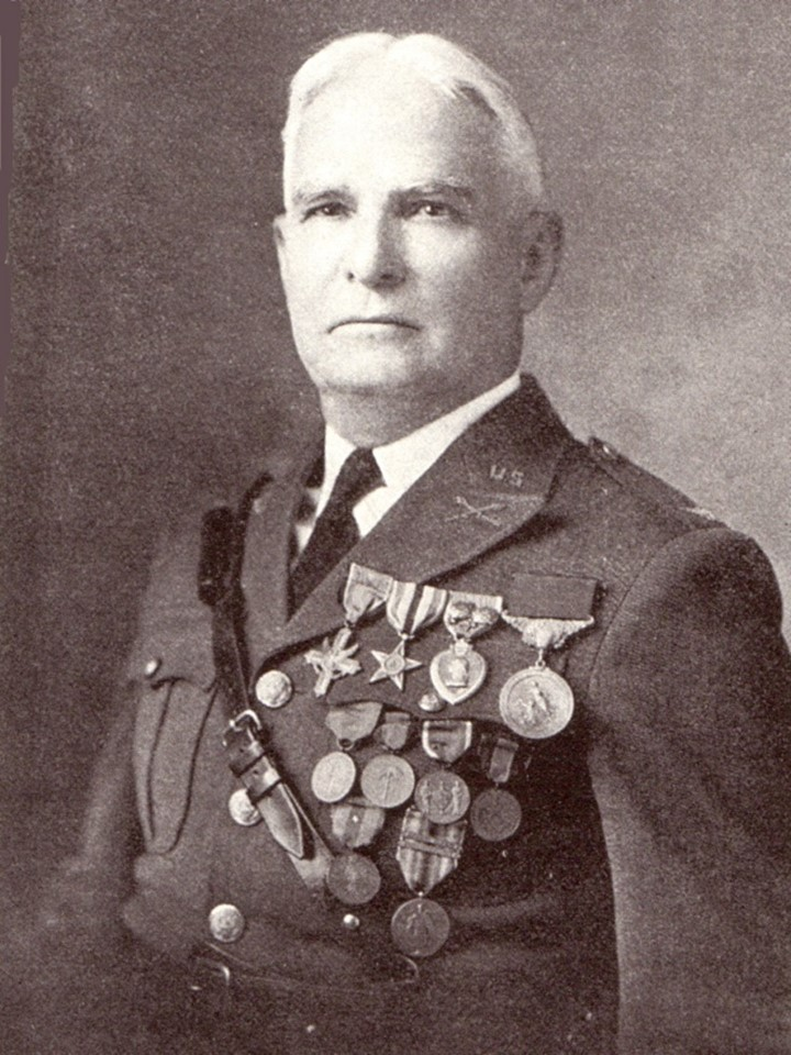 Major Frank Tompkins of the U.S. Army