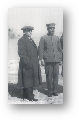 Felix A. Sommerfeld and Pancho Villa in 1914