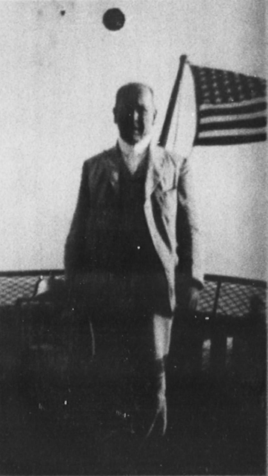 "Dr. Walter T. Scheele, the German ""Bomb Maker"""