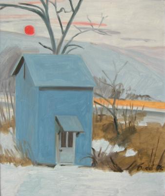 Little Blue House, Dec-Jan