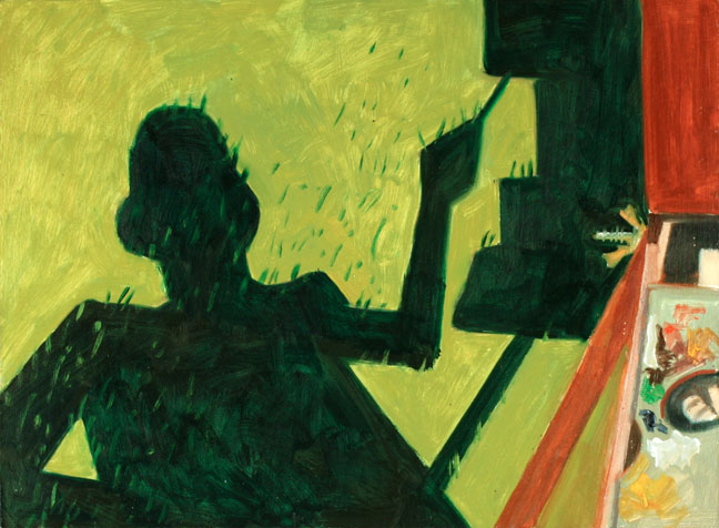 The Shadow of the Painter