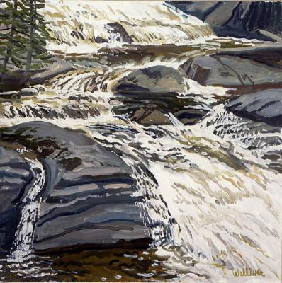 Study for Bruno Falls, High Water