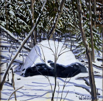 Study for Erratic and Snow