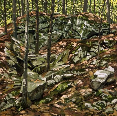 Study for Outcropping