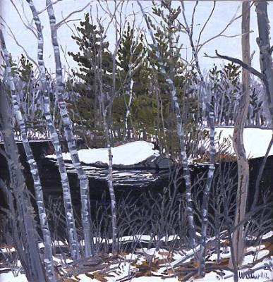 Study for Thaw at Pond Pass