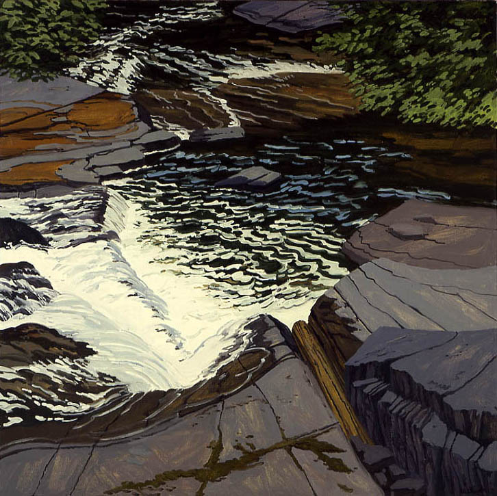 Study for Red River Falls