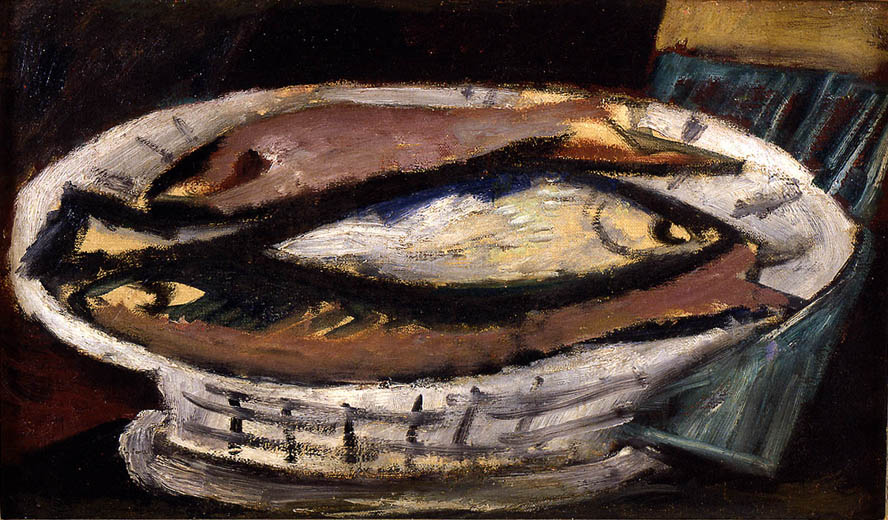 Untitled (Fish on Plate)