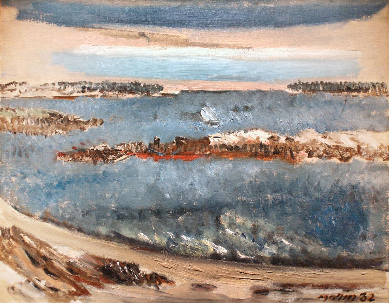 Ledges - the Sea, Boat, and Sky