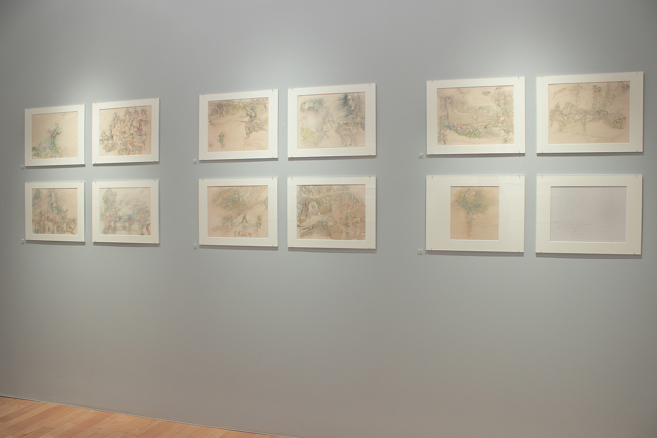 Marvin Bileck: Thimbledon Bridge   Emily Nelligan: Drawings