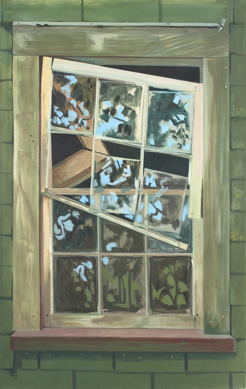 Falling Window Sash