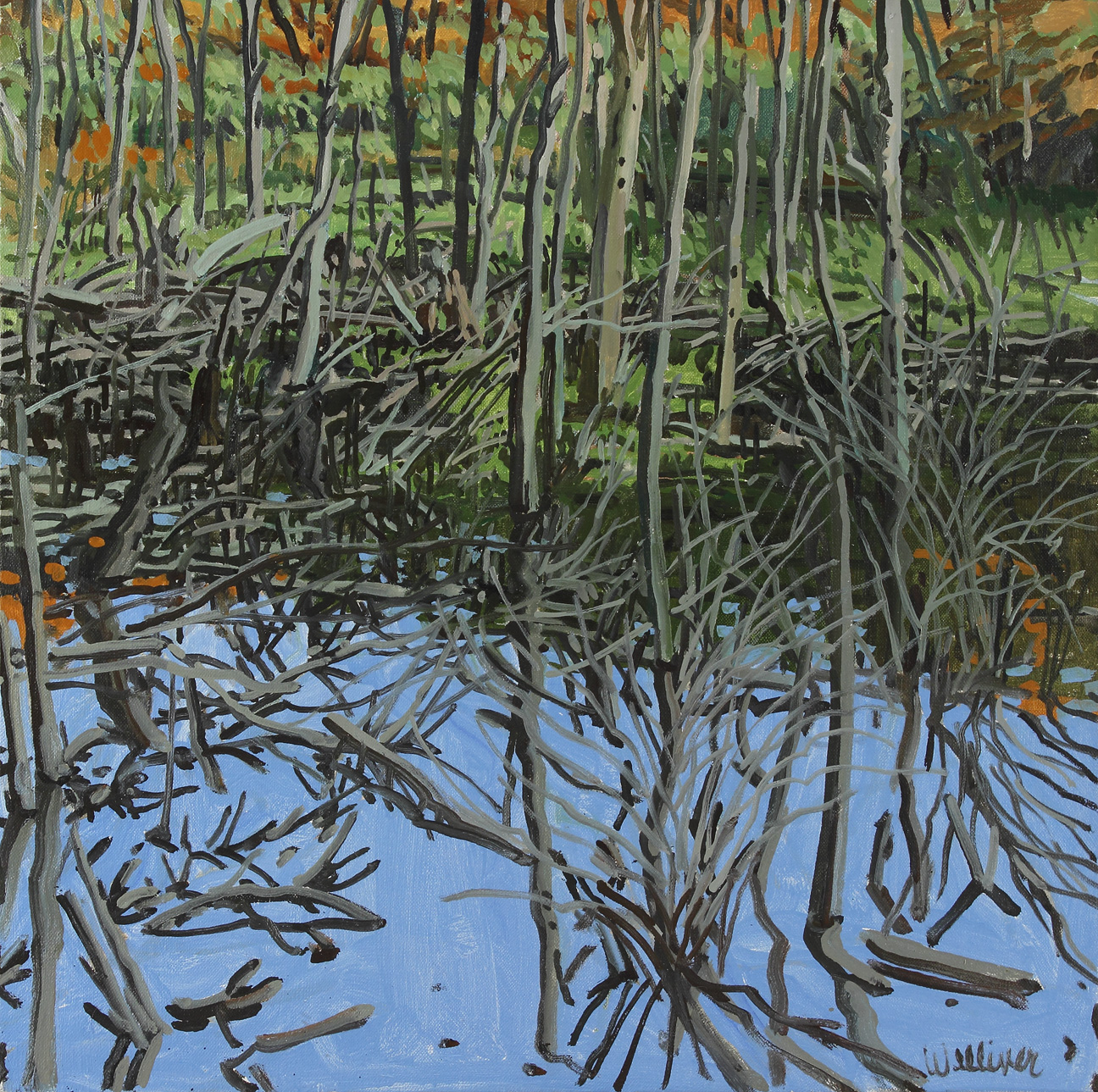 Study for Low Water-Knight's Flowage
