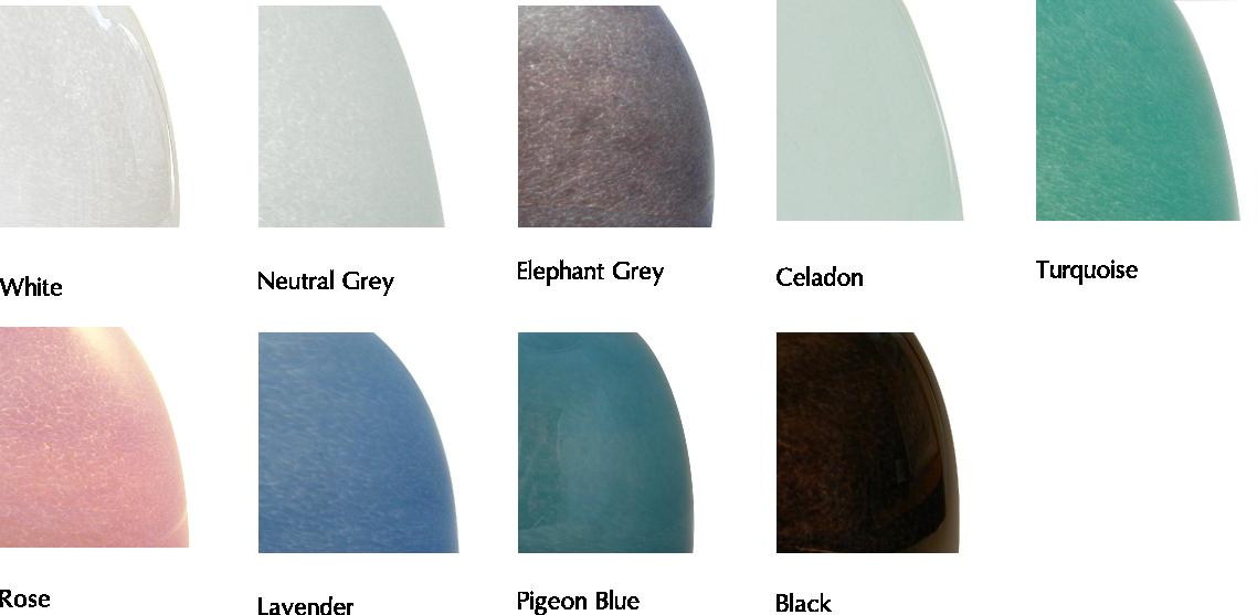 Stipple opaque colours
