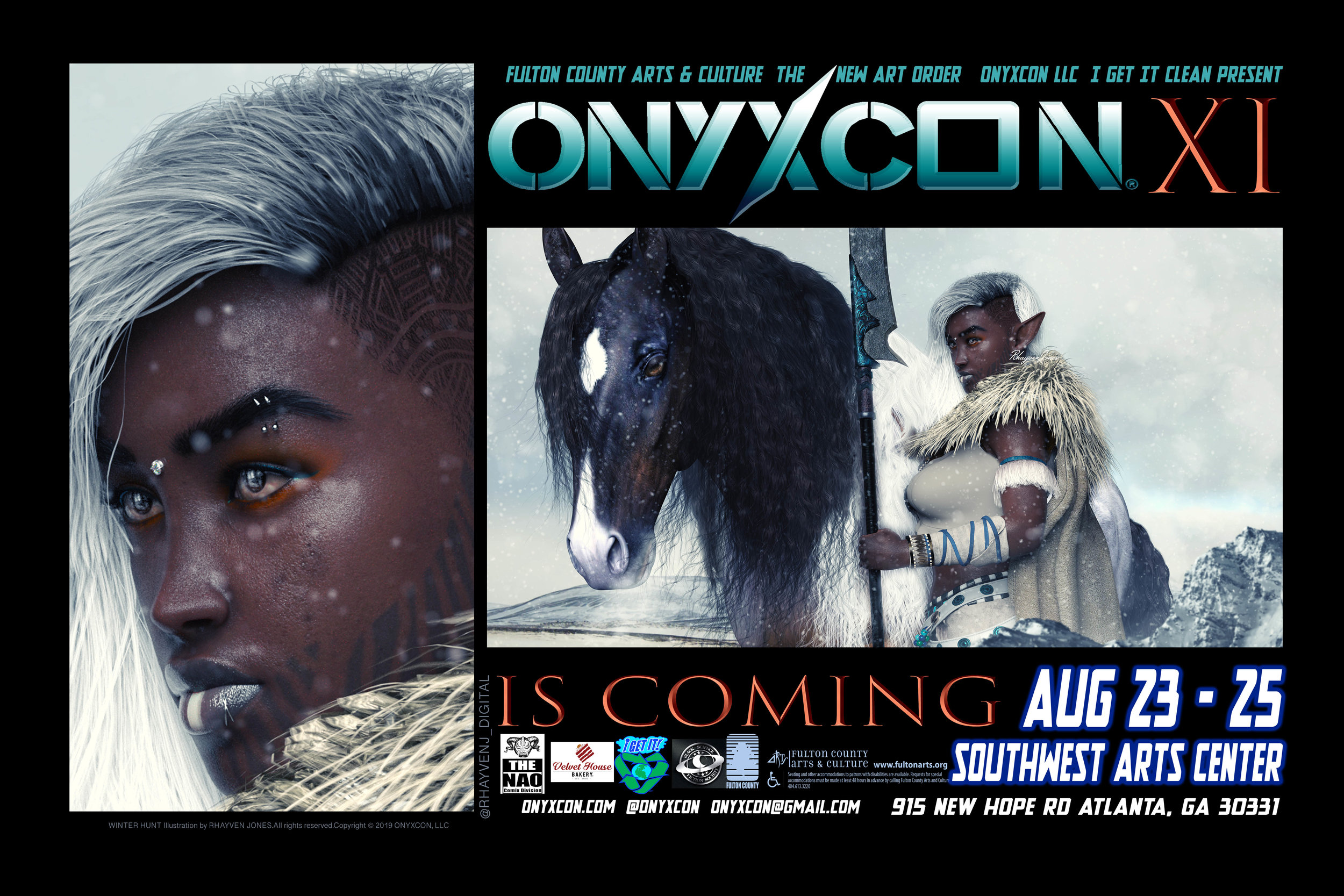 ONYXCON returns in AUGUST 2019!