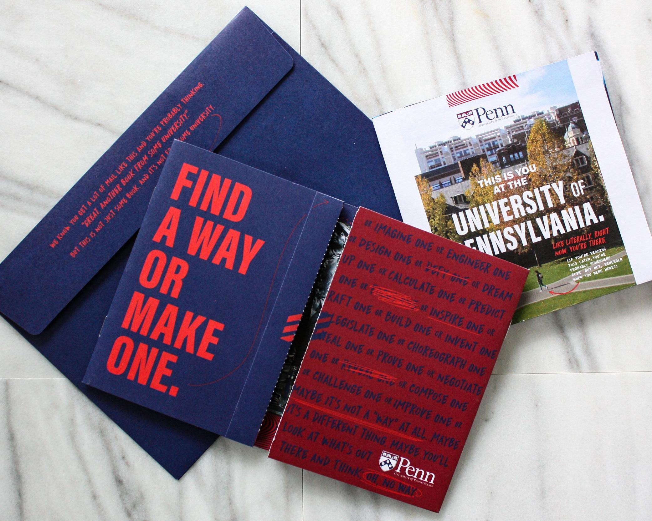 University of Pennsylvania - Admissions Suite