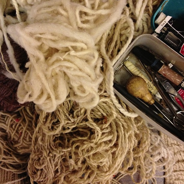 Inspired: Fibers Underfoot | CLOTH & KIND
