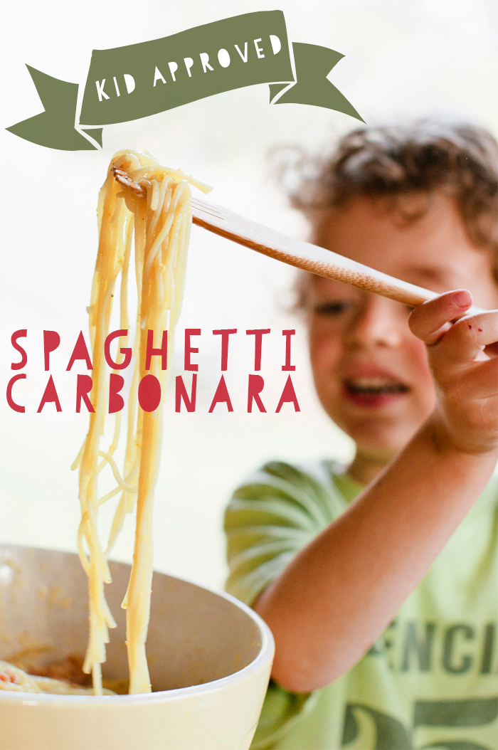 Deconstructed Kitchen: Spaghetti Carbonara by Guest Editor Bonny Berry | CLOTH & KIND