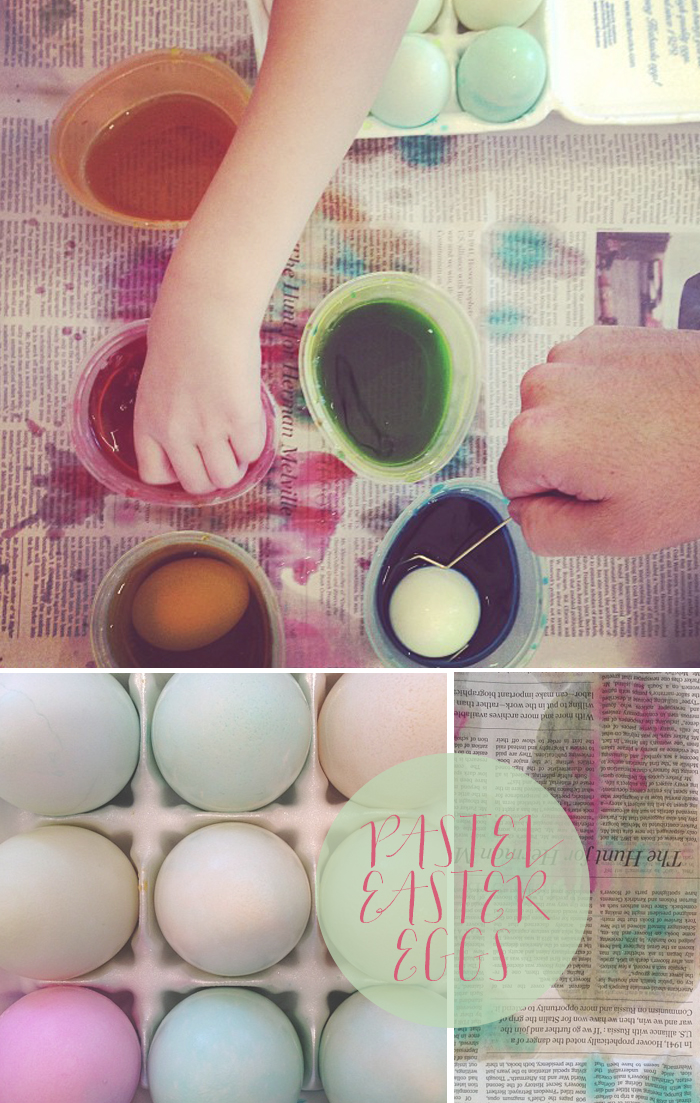 Home Sweet Home: Pastel Easter Eggs | CLOTH & KIND