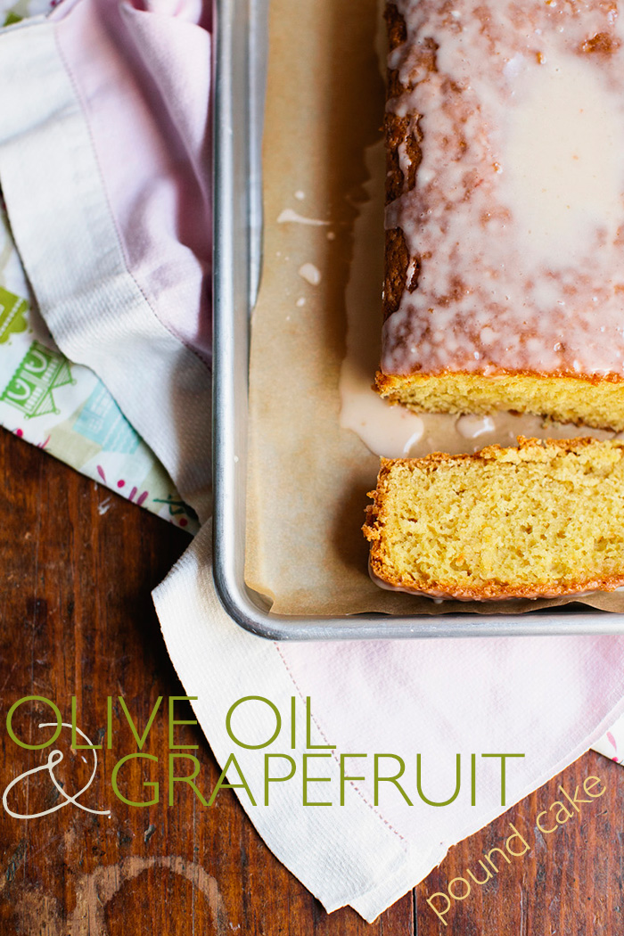 Deconstructed Kitchen: Olive Oil & Grapefruit Pound Cake | Guest Edited by Bonnie Berry | CLOTH & KIND