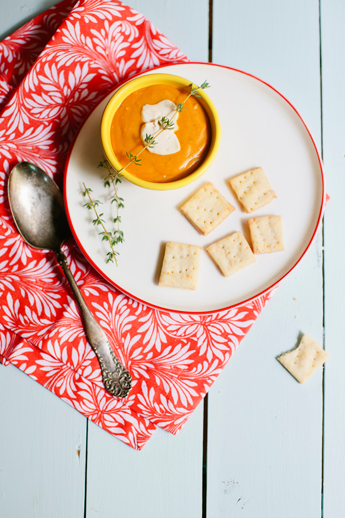 Deconstructed Kitchen: Carrot & Red Lentil Soup | CLOTH & KIND