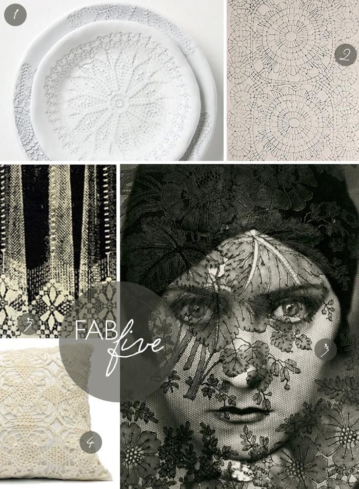 Fab Five: Lace | CLOTH & KIND