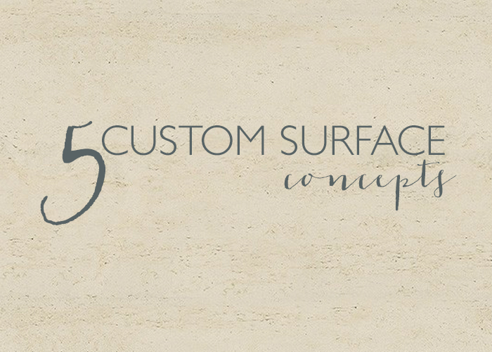 FabFive: Custom Surface Concepts   CLOTH & KIND