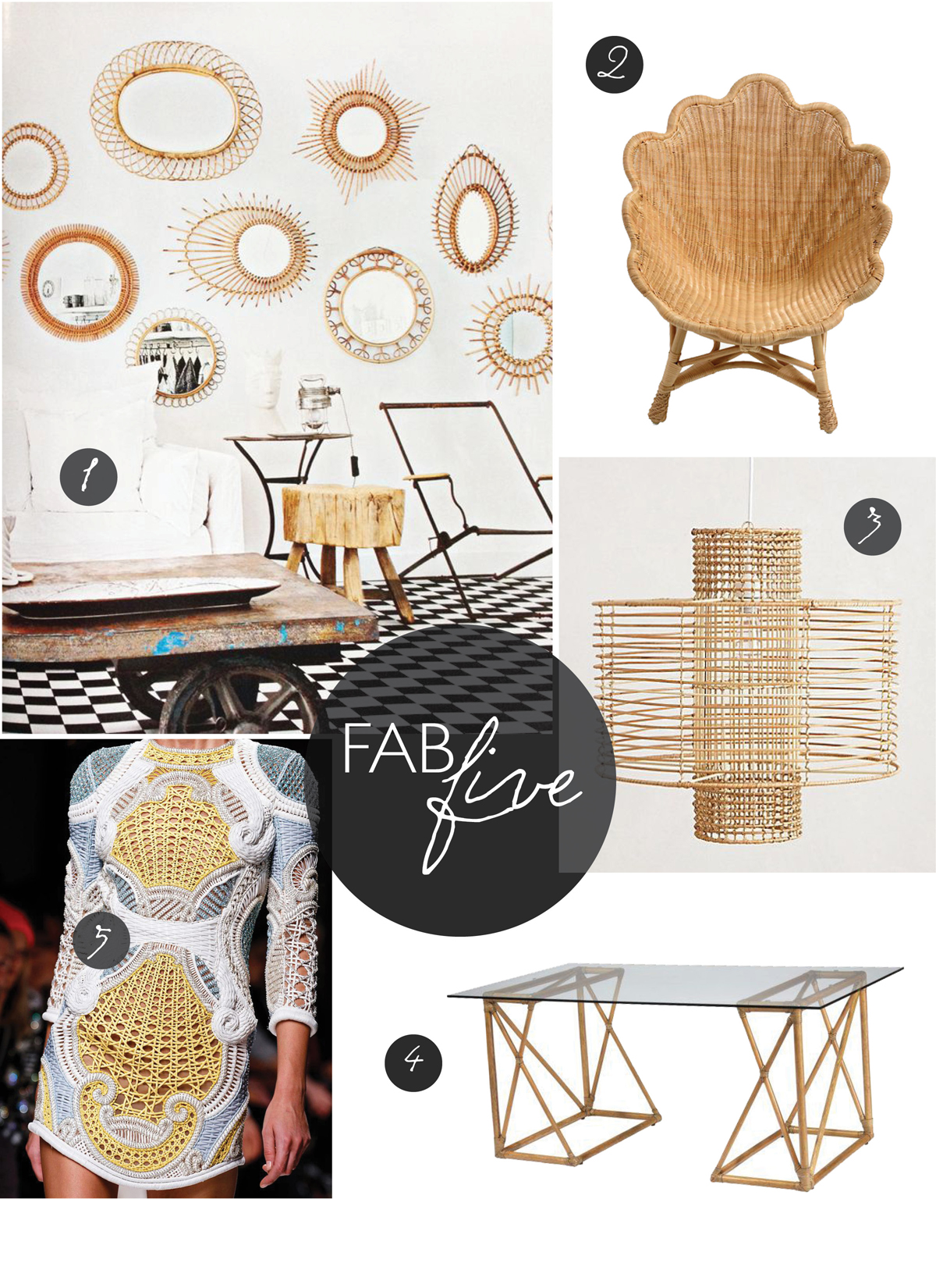 Fab Five: Natural Fibers // CLOTH & KIND