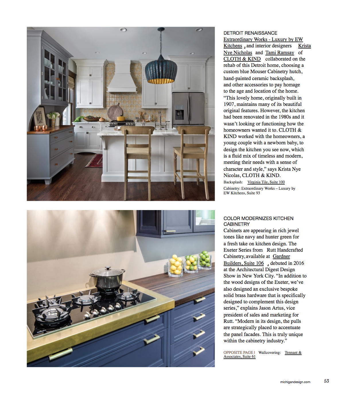 CLOTH & KIND Interiors // MDC @home Magazine