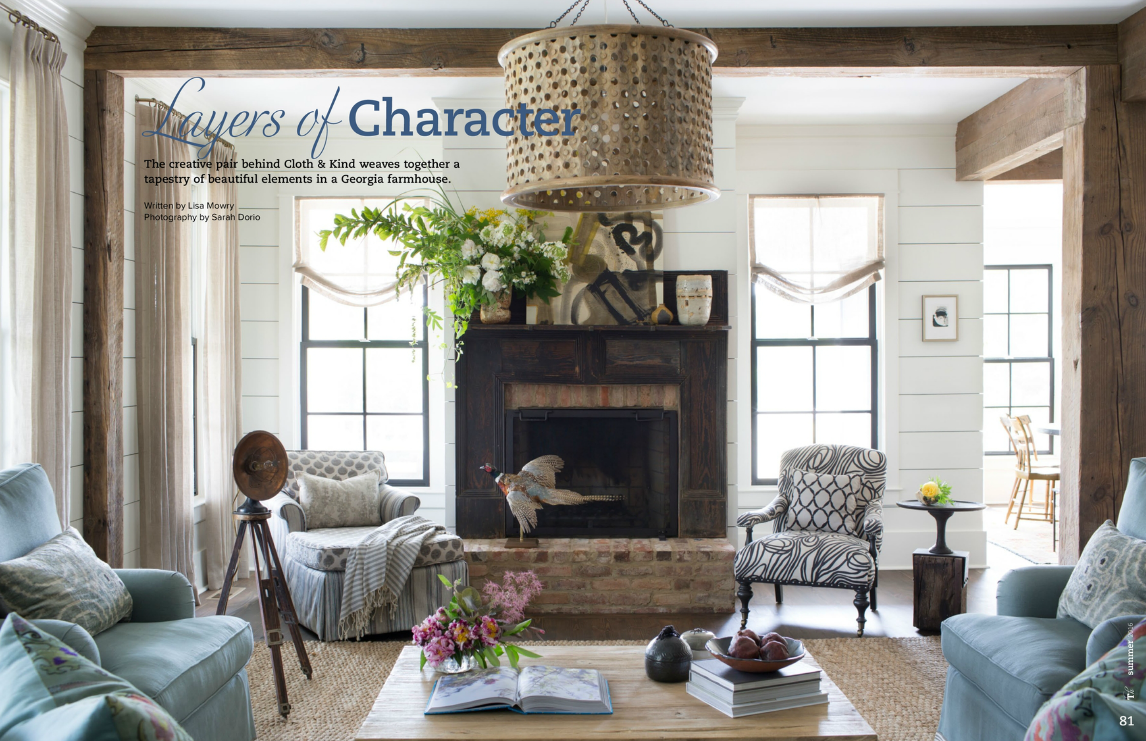 CLOTH & KIND // Traditional Home Magazine