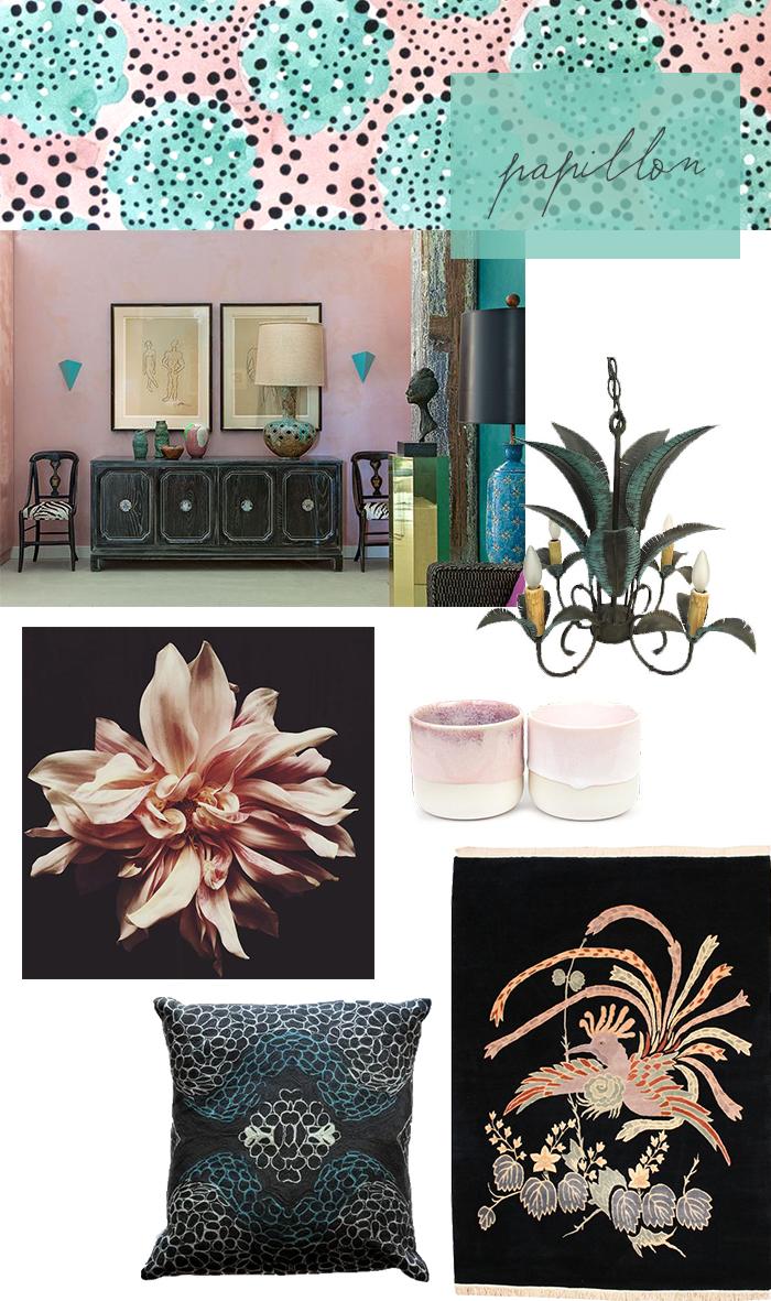 CLOTH & KIND Interiors // Papillon