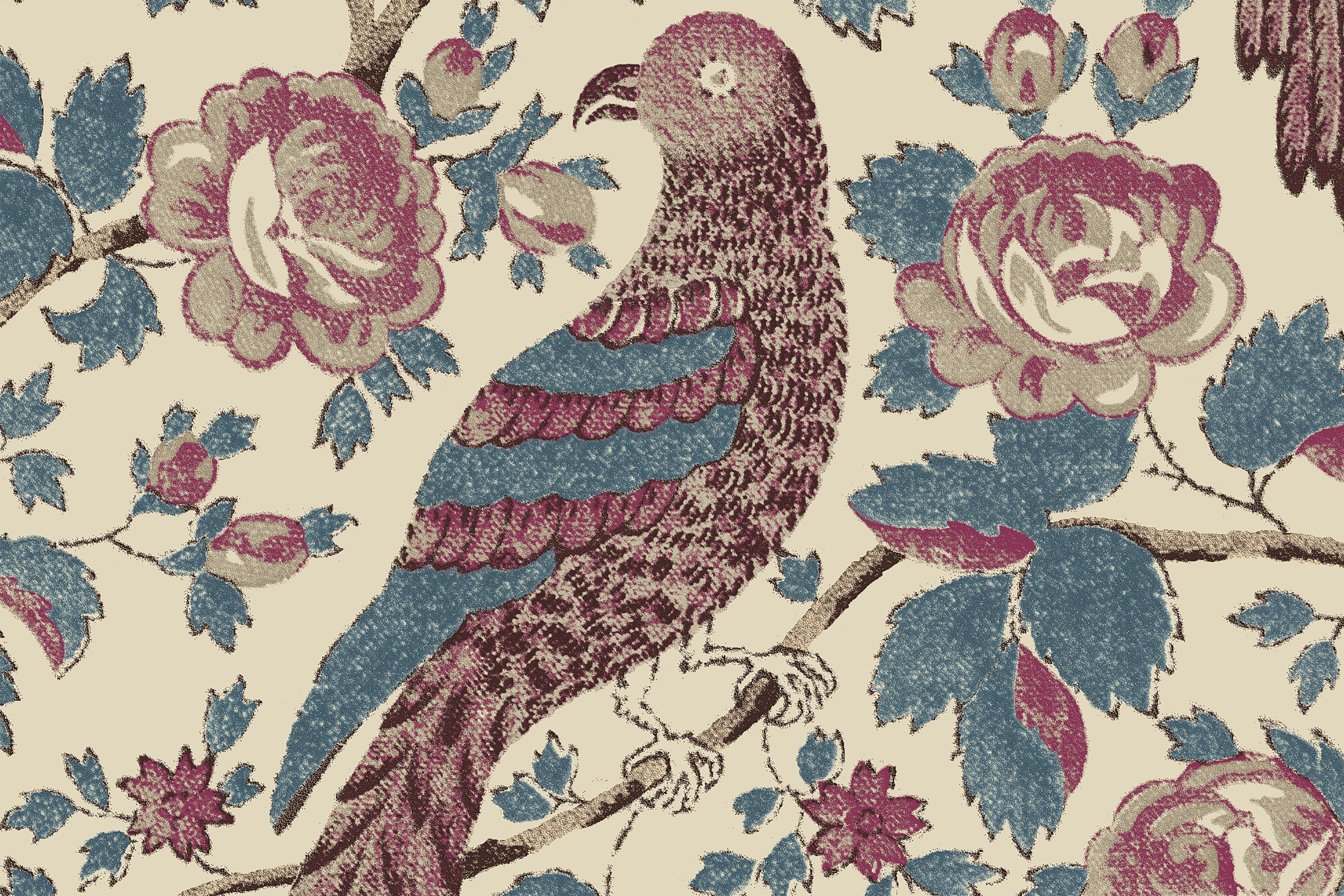 CLOTH & KIND // Wallpaper, Schuyler Samperton