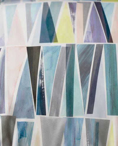 Color Inspiration // Pastel geometrics