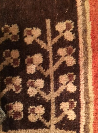 Pattern Inspiration // Fragment of a Turkish rug