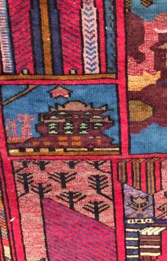 Pattern Inspiration // Vintage rug fragment
