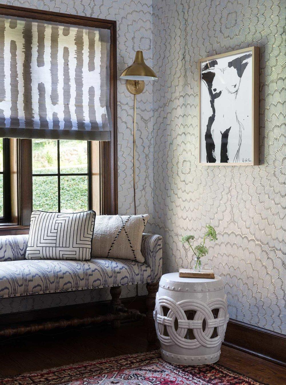 CLOTH & KIND :: Ann Arbor Hills Tudor, Hallway Detail.jpg