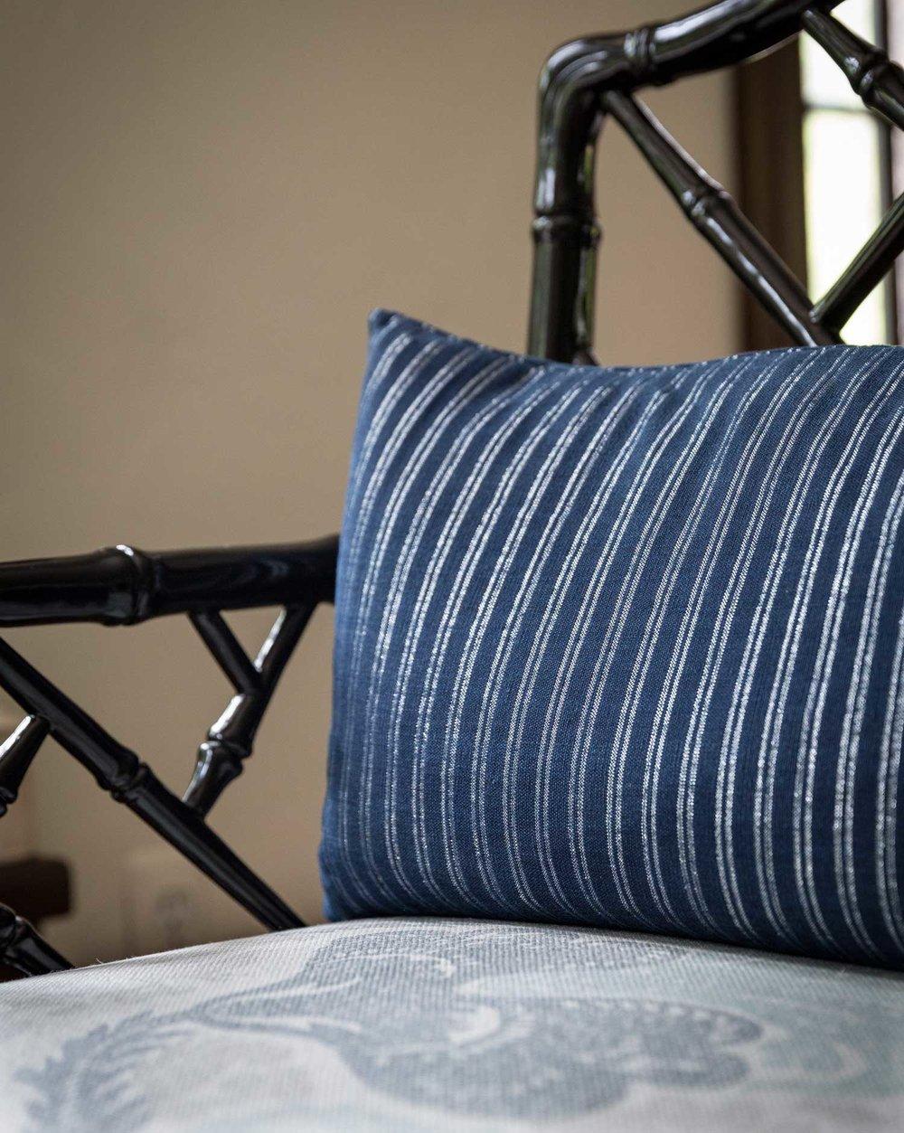 CLOTH & KIND :: Ann Arbor Hills Tudor, Sitting Room Chair Detail.jpg