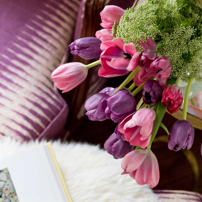 CLOTH & KIND :: Ann Arbor Hills Tudor, Sitting Room Flower Detail.jpg