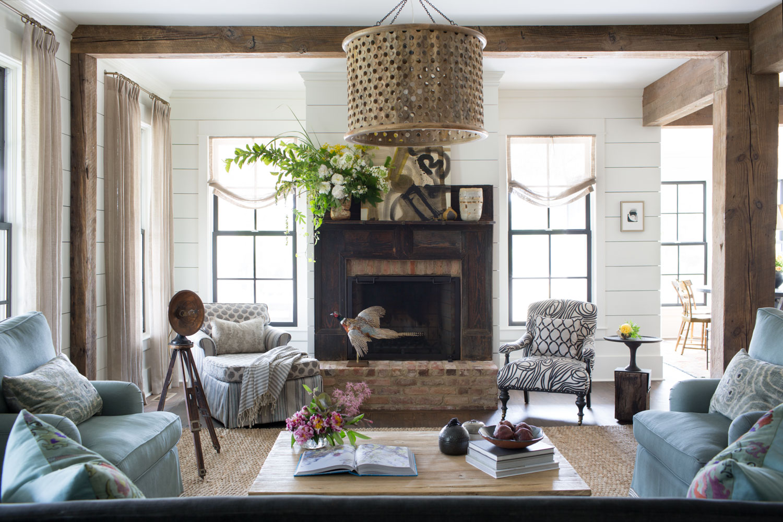CLOTH & KIND :: Modern Farmhouse, Living Room.jpg