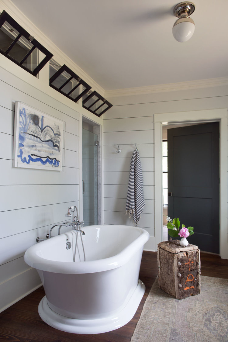 CLOTH & KIND :: Modern Farmhouse, Master Bathroom Tub.jpg