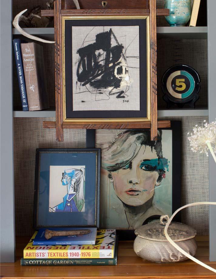 CLOTH & KIND :: Five Points Tudor Cottage, Bookcase Detail.jpg