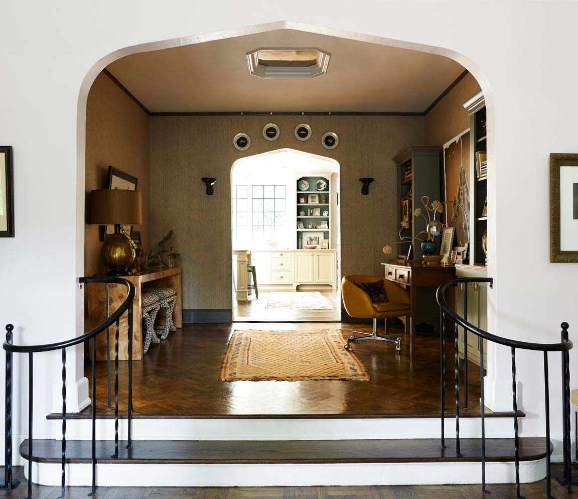 CLOTH & KIND :: Five Points Tudor Cottage, Hallway.jpg